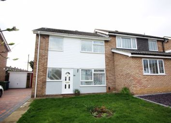 Thumbnail 3 bed semi-detached house to rent in Newnham Close, Hartford, Huntingdon