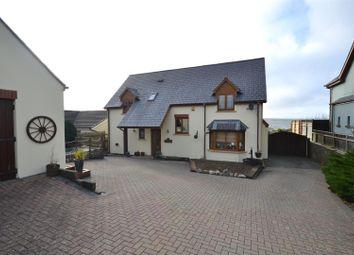 Thumbnail 3 bed detached house for sale in Long Mains, Monkton, Pembroke