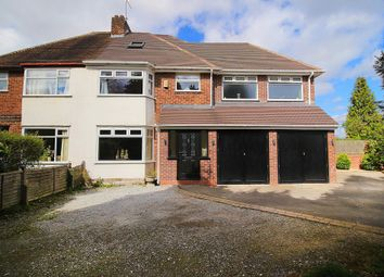Thumbnail 4 bed semi-detached house for sale in Dursley Close, Solihull