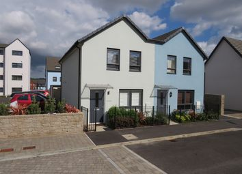 Thumbnail 2 bed semi-detached house for sale in Causeway View, Plymouth