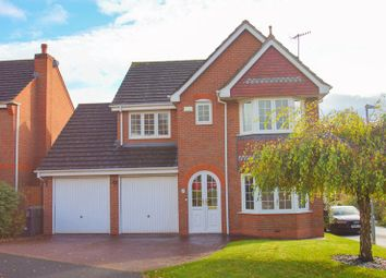 Thumbnail 4 bed detached house for sale in Reed Mace Drive, Woodland Grange, Bromsgrove