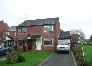 Thumbnail 2 bed property to rent in Oak Close, Castle Gresley, Swadlincote