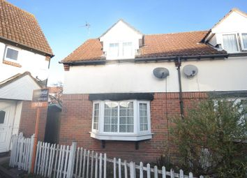Thumbnail End terrace house to rent in Nickelby Close, Central Thamesmead, London