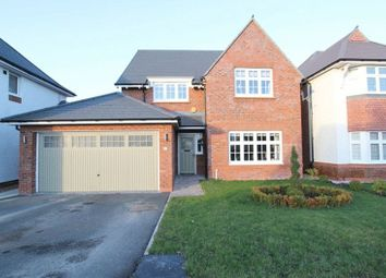Thumbnail 4 bed detached house for sale in Birket Drive, Widnes, Cheshire