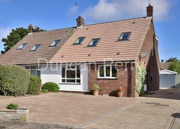 Heronfield, Potters Bar, Herts EN6. 4 bed semi-detached bungalow for sale