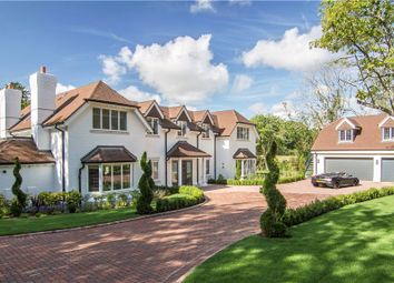 Thumbnail 5 bed detached house for sale in Church Lane, Finchampstead, Wokingham