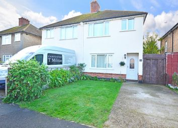 Thumbnail 3 bed semi-detached house for sale in Hanworth Road, Earlswood