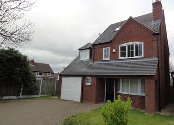 Thumbnail 4 bed detached house to rent in Mirbeck Close, Finchfield, Wolverhampton