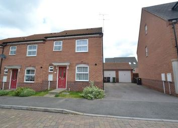 Thumbnail 3 bedroom end terrace house for sale in Siskin Close, Corby, Northamptonshire