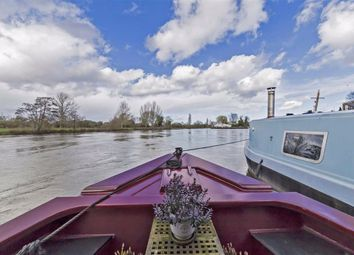 Thumbnail 2 bedroom houseboat for sale in Portsmouth Road, Surbiton