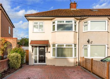 Thumbnail 3 bed end terrace house for sale in Severn Drive, Upminster