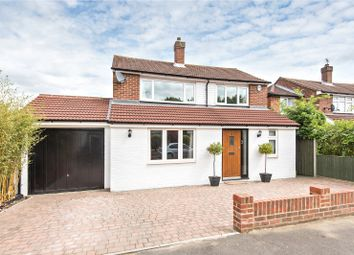 Thumbnail 4 bed detached house for sale in Chaworth Road, Ottershaw, Surrey