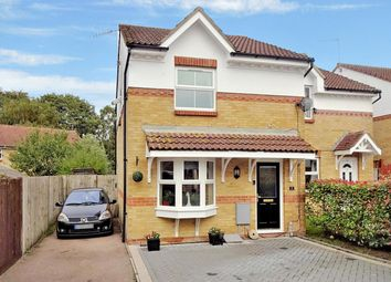 Thumbnail 3 bed semi-detached house for sale in Bosham Road, Maidenbower, Crawley