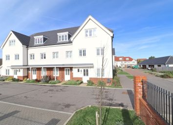 Thumbnail 4 bed end terrace house for sale in Sovereign Close, Eastbourne