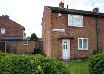 Thumbnail 2 bed semi-detached house for sale in Briarfield Drive, Leicester