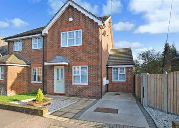 Thumbnail 2 bed semi-detached house for sale in High Street, Halling, Rochester, Kent