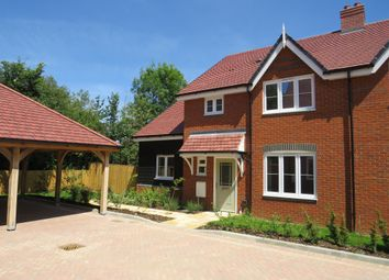 Thumbnail 4 bedroom semi-detached house for sale in Low Meadow, Brook End, Weston Turville