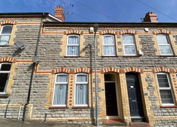 Thumbnail 3 bed terraced house for sale in Harvey Street, Barry