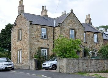 Thumbnail 3 bedroom semi-detached house for sale in Northumberland House, Church Lane, Wark, Northumberland.