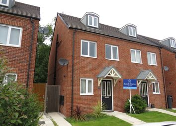Thumbnail 3 bed town house for sale in Trinity Road, Ellesmere Port