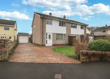 Thumbnail 3 bed semi-detached house for sale in Fairhome, Gilwern, Abergavenny, Monmouthshire