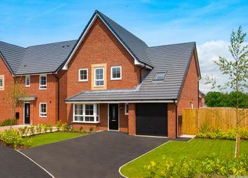 "Thumbnail 4 bed detached house for sale in ""Harborough"" at Plox Brow, Tarleton, Preston"