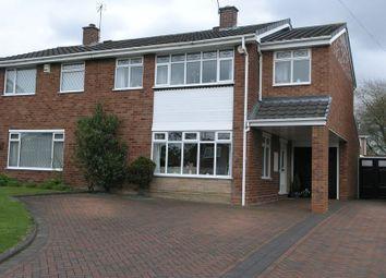 Thumbnail 4 bed semi-detached house for sale in Kelwood Drive, Halesowen