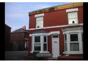Thumbnail 2 bed end terrace house to rent in Grange Avenue, Wallasey