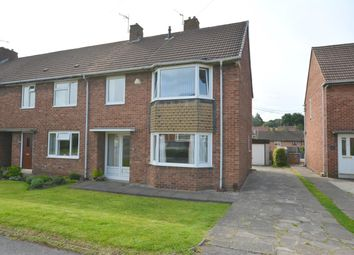 Thumbnail 3 bedroom end terrace house for sale in Wimborne Crescent, Newbold, Chesterfield