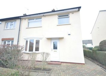 Thumbnail 3 bed semi-detached house for sale in Staines Croft, Huddersfield, West Yorkshire