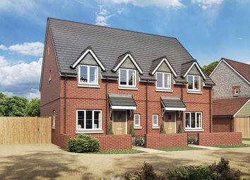 Thumbnail 3 bedroom semi-detached house for sale in The Mimosa, Owsla Park, Bloswood Lane, Whitchurch, Hampshire