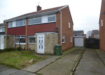 Thumbnail 3 bed semi-detached house for sale in Woodham Road, Billingham