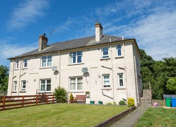 Thumbnail 2 bed flat for sale in Croft Crescent, Markinch