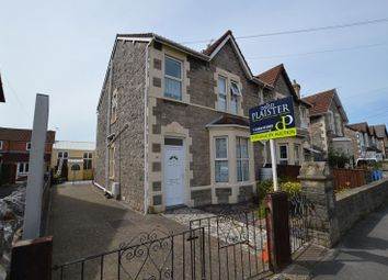 Thumbnail 2 bed semi-detached house for sale in Swiss Road, Weston-Super-Mare