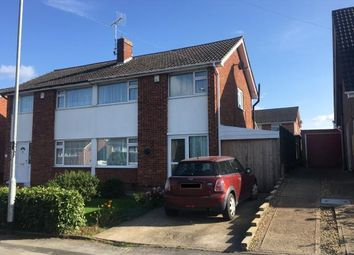 Thumbnail 3 bedroom semi-detached house for sale in Winslow Drive, Wigston, Leicestershire