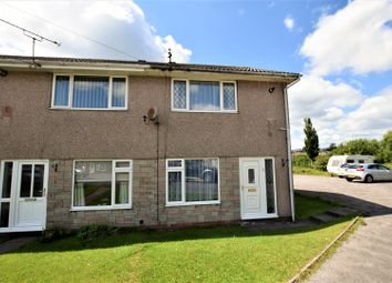 Thumbnail 2 bedroom end terrace house to rent in Milton Close, Beddau, Pontypridd