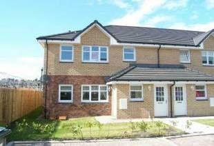 Thumbnail 2 bed flat to rent in Victoria Terrace, Kilmarnock, Ayrshire
