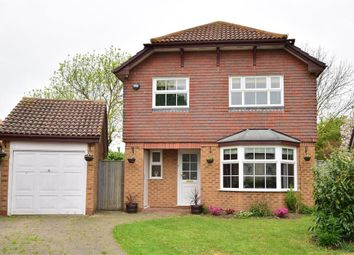 Thumbnail 4 bed detached house for sale in Cheyne Close, Kemsley, Sittingbourne, Kent