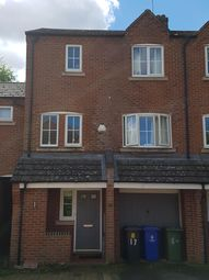 Thumbnail 1 bed town house to rent in Lodge Close, Grange Park, Northampton