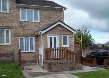 Thumbnail 2 bed semi-detached house to rent in Pen Llwyn, Bridgend