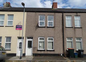Thumbnail 2 bedroom terraced house for sale in Barthropp Street, Newport