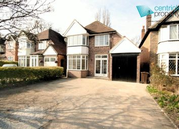 Thumbnail 3 bed detached house to rent in Blossomfield Road, Solihull
