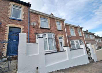 Thumbnail 3 bed terraced house for sale in Clinton Avenue, Plymouth