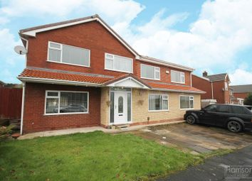 Thumbnail 7 bed detached house for sale in Kildonan Drive, Ladybridge, Bolton, Lancashire.