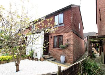 Thumbnail 2 bed end terrace house for sale in The Dell, East Grinstead, West Sussex