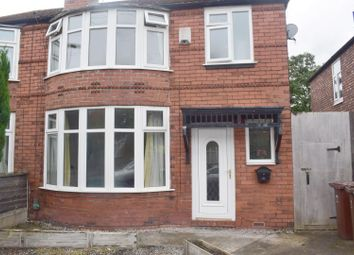Thumbnail 4 bedroom property to rent in Brookleigh Road, Withington, Manchester
