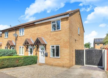 Thumbnail 2 bed end terrace house for sale in Mokyll Croft, Norwich