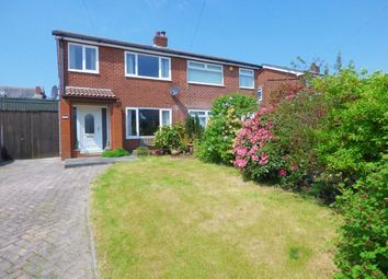 Thumbnail 3 bed semi-detached house for sale in Coppice Close, Chorley