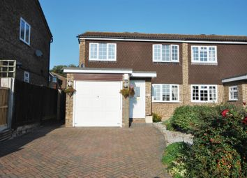 Thumbnail 4 bed semi-detached house for sale in Spicersfield, Cheshunt, Waltham Cross