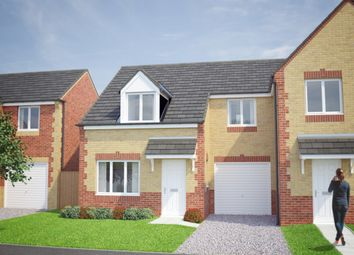 Thumbnail 3 bed semi-detached house for sale in The Fergus, Ollerton, Whinney Lane, New Ollerton, Newark, Nottinghamshire